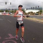 Fawn Whiting heading out the Queen K at the 2016 Ironman World Championship