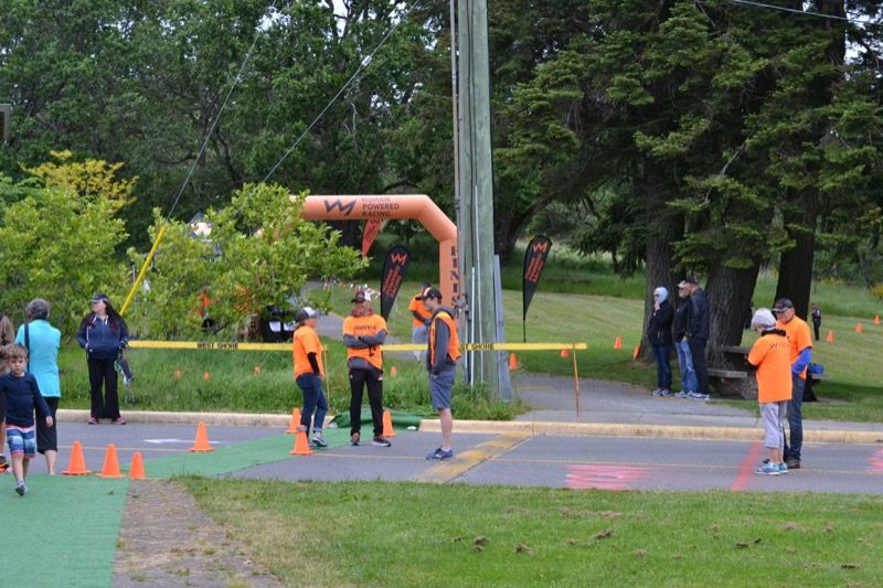 HPR Youth Tri Bike course marshals