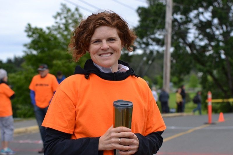 Transition marshal, Collette Hopkins.
