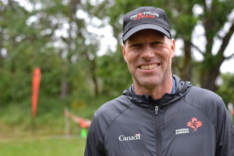 Race official, Ulf Schuetze.