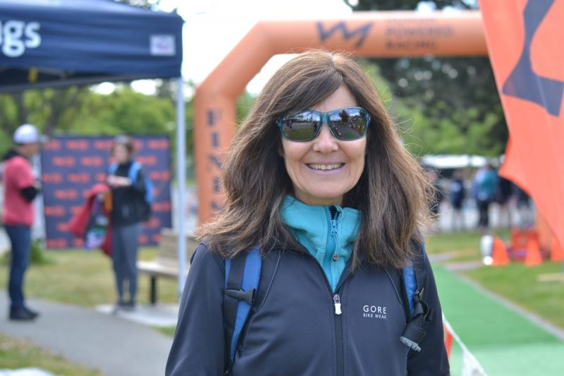 Linda Lalande from Vancouver, cheering on Guillaume, 14. #ExcelerationClub