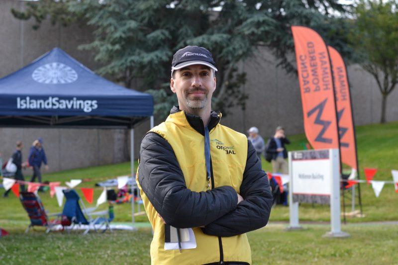 Mike Romaniuk from Triathlon BC.